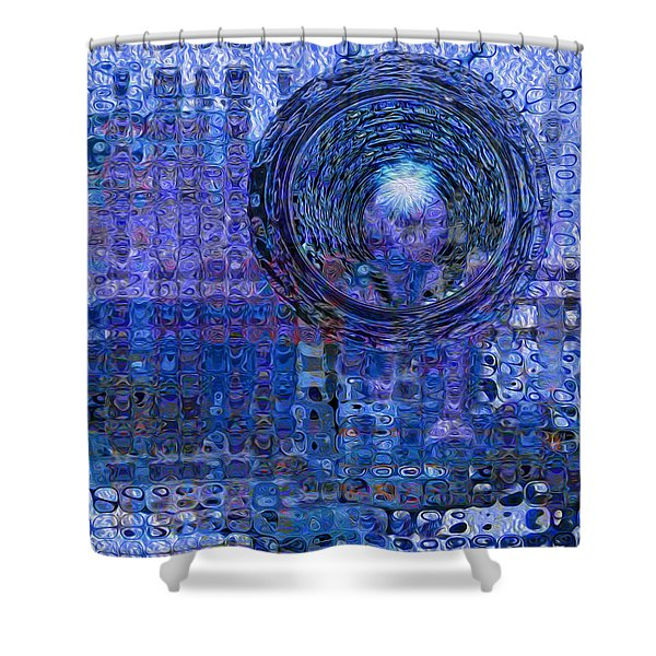 Light At The End Of The Tunnel Shower Curtain by Jack Zulli
