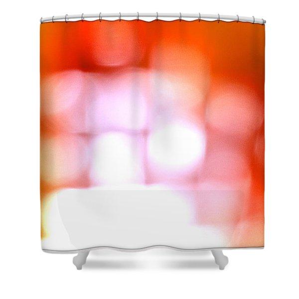 Light Field Shower Curtain by Michelle Calkins