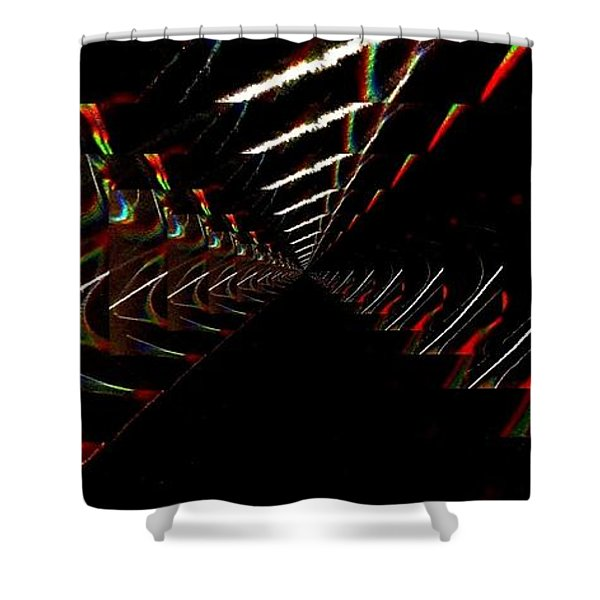 Light Passage Shower Curtain by Mike Breau