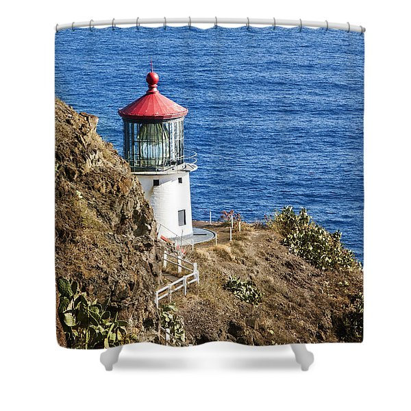 Lighthouse Shower Curtain by Juli Scalzi