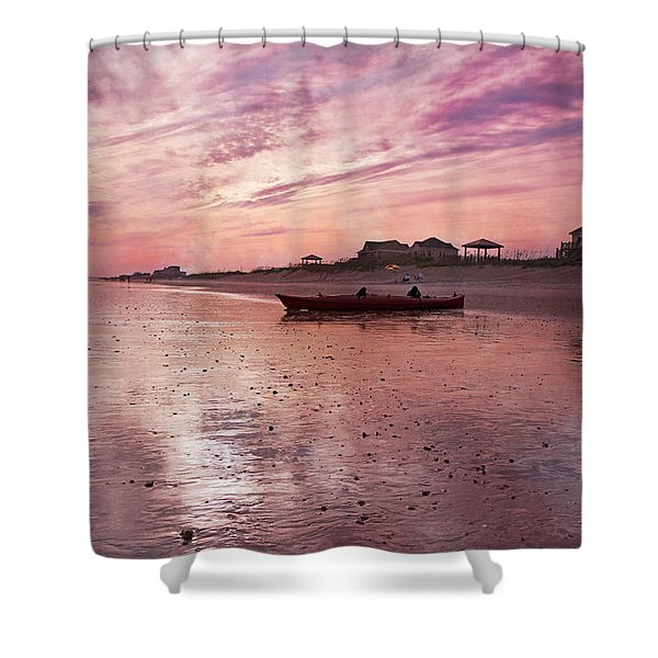 Limitless  Shower Curtain by Betsy C  Knapp