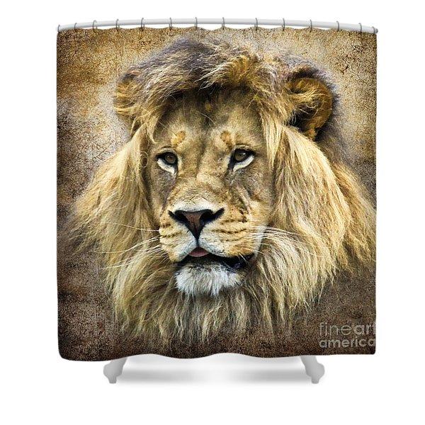 Lion King Shower Curtain by Steve McKinzie