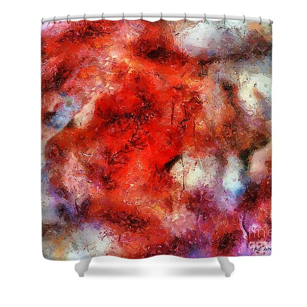 Lion Sky Shower Curtain by RC DeWinter