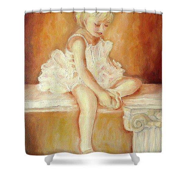 LITTLE BALLERINA Shower Curtain by CAROLE SPANDAU