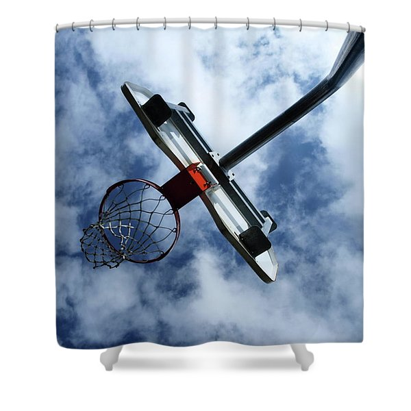 long shot Shower Curtain by Tom Druin