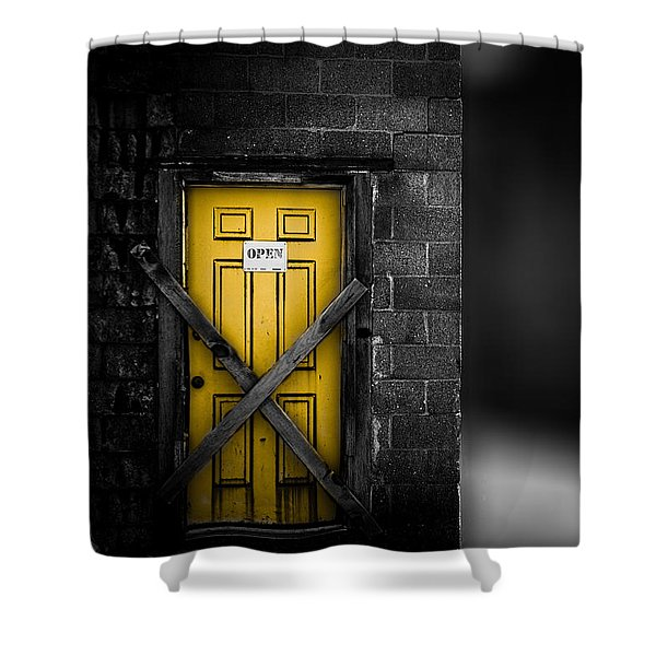 Lost Control Shower Curtain by Bob Orsillo