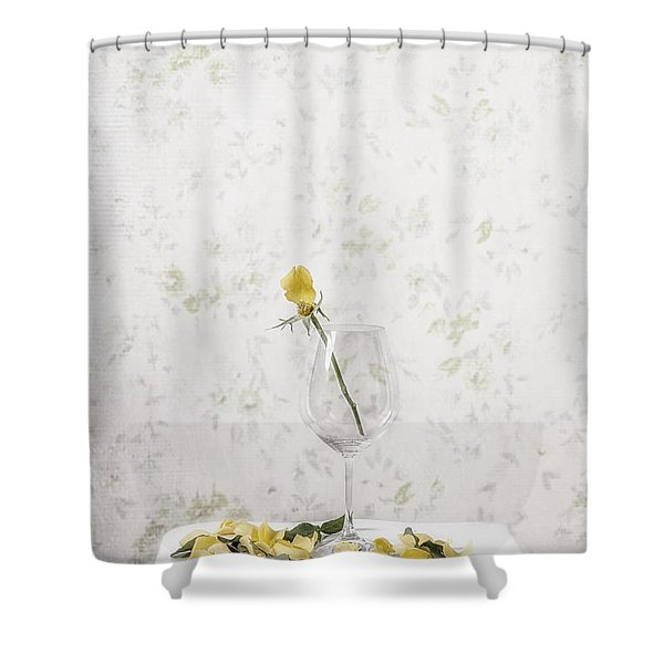 lost petals Shower Curtain by Joana Kruse
