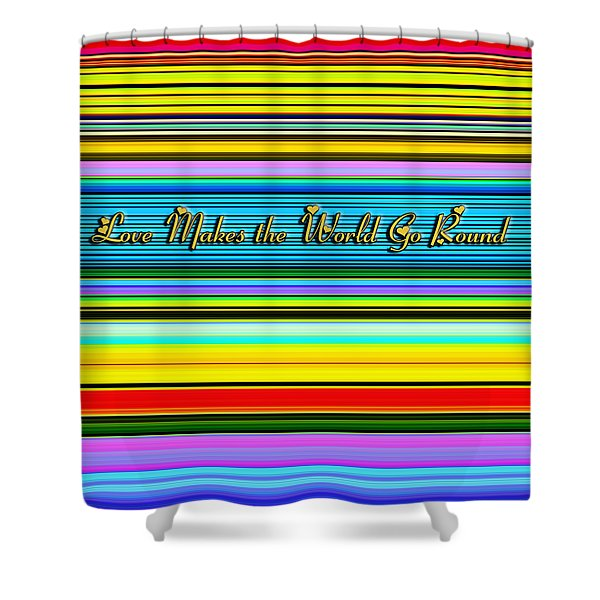 Love Shower Curtain by Chuck Staley