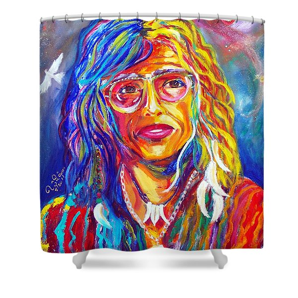 Love Shower Curtain by To-Tam Gerwe