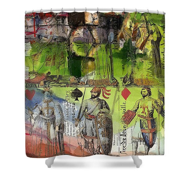Magic Moonlight Shower Curtain by Corporate Art Task Force