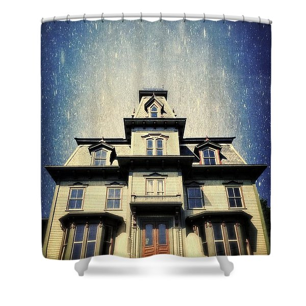 Magical Victorian Wonder Shower Curtain by Edward Fielding