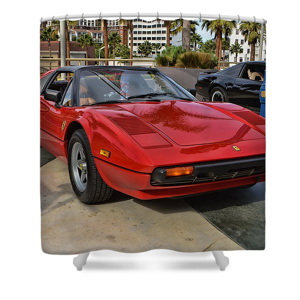 Magnum PI Shower Curtain by Tommy Anderson