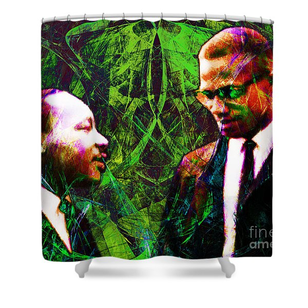 Malcolm And The King 20140205p68 Shower Curtain by Wingsdomain Art and Photography