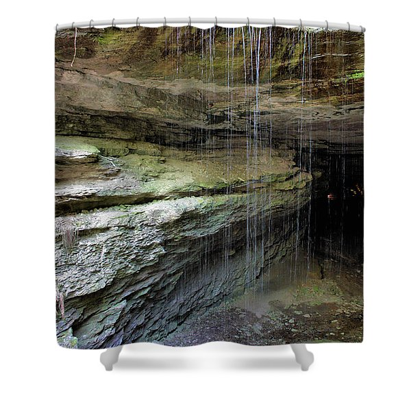 Mammoth Cave Entrance Shower Curtain by Kristin Elmquist