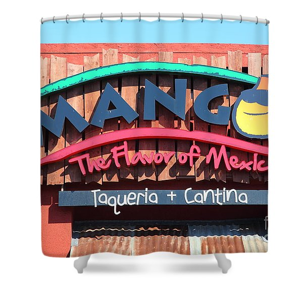 Mangos Restaurant At San Francisco California 5d26091 Shower Curtain by Wingsdomain Art and Photography