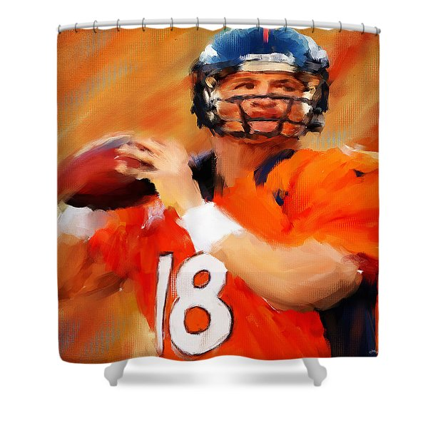 Manning Shower Curtain by Lourry Legarde