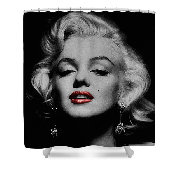 Marilyn Monroe 3 Shower Curtain by Andrew Fare