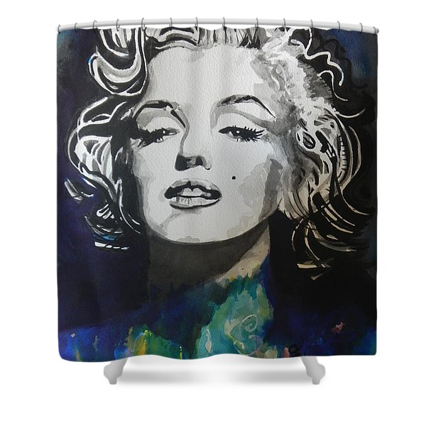 Marilyn Monroe..2 Shower Curtain by Chrisann Ellis