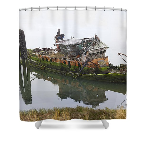 Mary D Hume Shower Curtain by Debra and Dave Vanderlaan