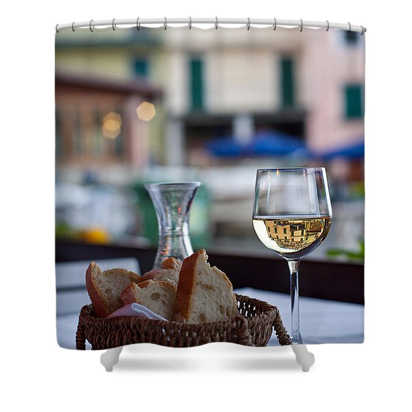 Mastering the Art of Living Well Shower Curtain by Mike Reid