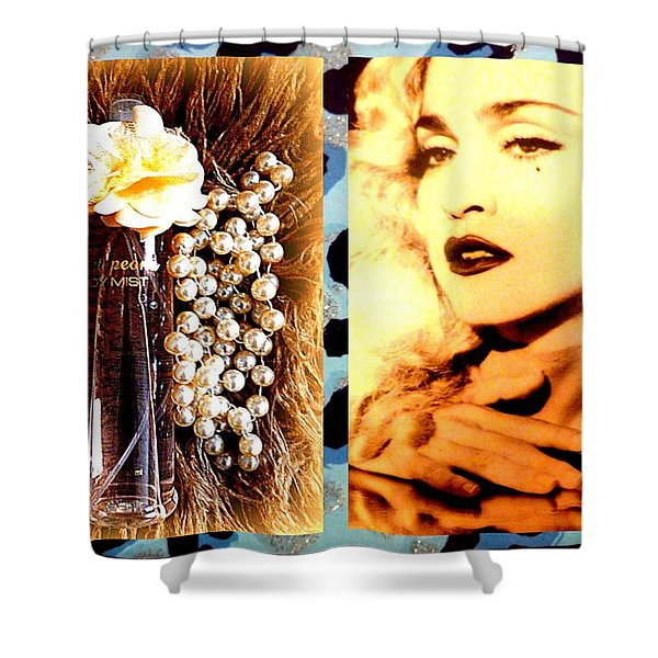 Material Girl Shower Curtain by The Creative Minds Art and Photography