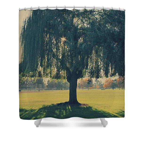 Maybe We'll Find It Someday Shower Curtain by Laurie Search