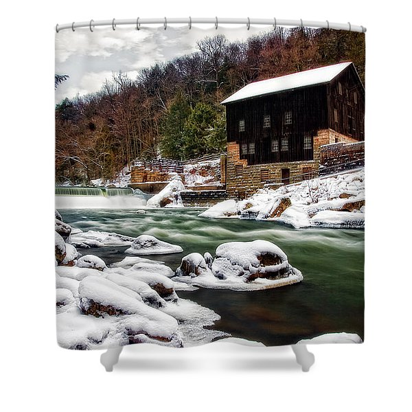 Mcconnell's Mill Shower Curtain by Marcia Colelli