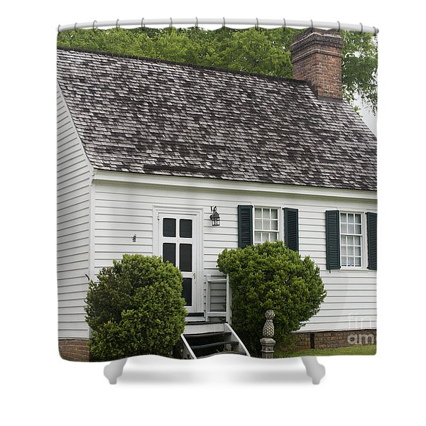 Medical Shop Yorktown Shower Curtain by Teresa Mucha