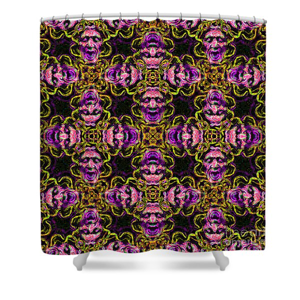 Medusa Abstract 20130131m138 Shower Curtain by Wingsdomain Art and Photography