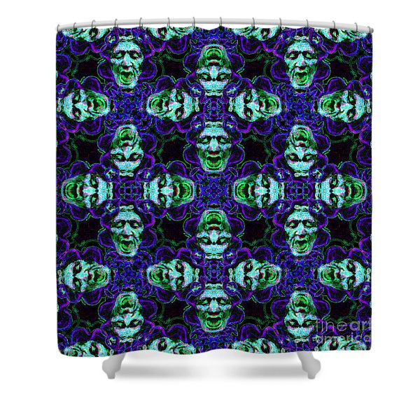 Medusa Abstract 20130131p138 Shower Curtain by Wingsdomain Art and Photography
