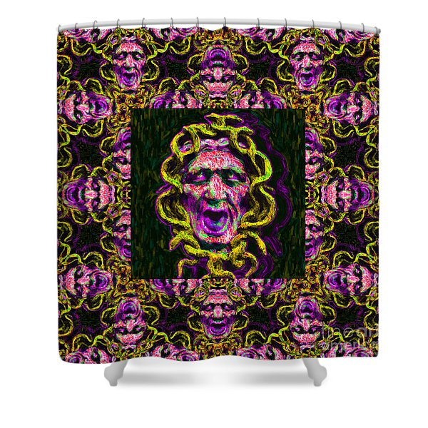 Medusa's Window 20130131m138 Shower Curtain by Wingsdomain Art and Photography