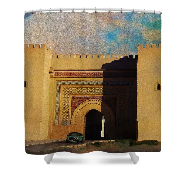 Meknes Shower Curtain by Catf