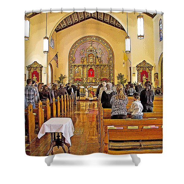 Memorial Shower Curtain by Chuck Staley