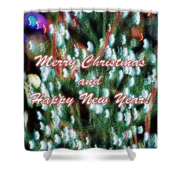 Merry Christmas 2 Shower Curtain by Skip Nall