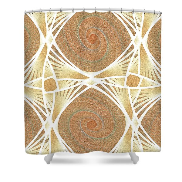 Mesh Shower Curtain by Anastasiya Malakhova