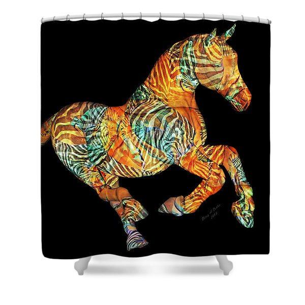 Messenger Shower Curtain by Betsy C  Knapp