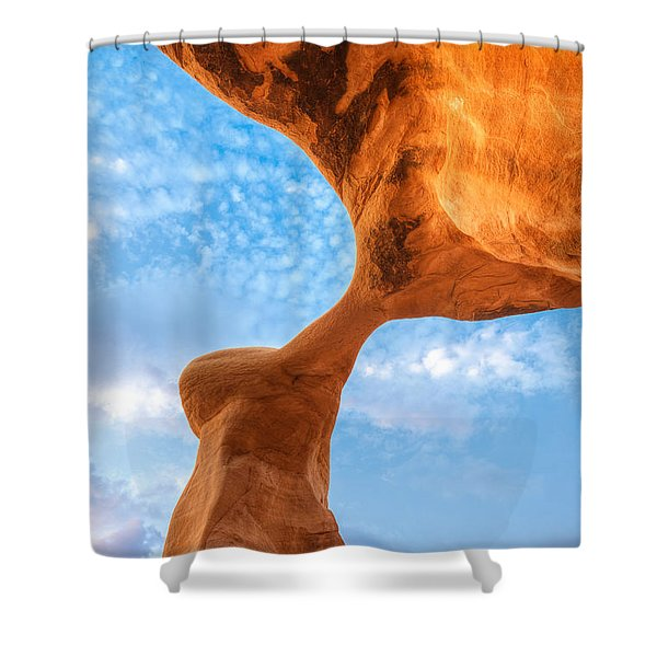 Metate Shower Curtain by Dustin  LeFevre