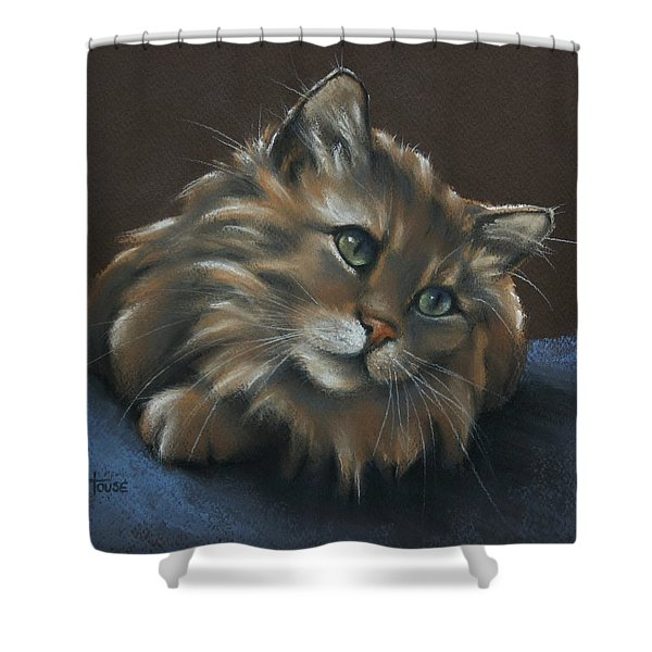 Miko Shower Curtain by Cynthia House