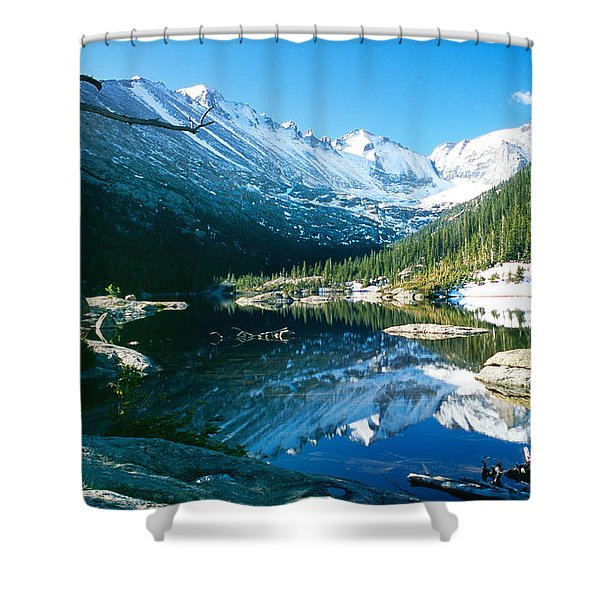 Mills Lake Shower Curtain by Eric Glaser