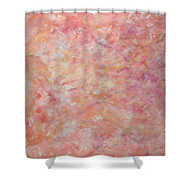 Minimal number 6 Shower Curtain by James W Johnson