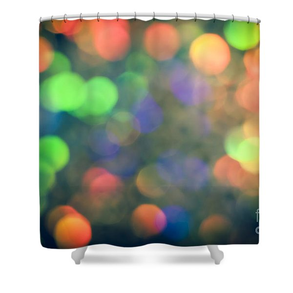 Mirage Shower Curtain by Jan Bickerton