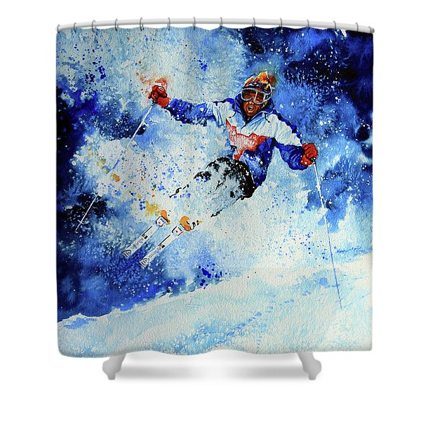 Mogul Mania Shower Curtain by Hanne Lore Koehler