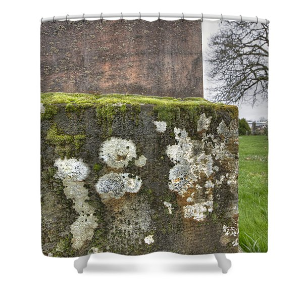 Moldy above and below Shower Curtain by Jean Noren