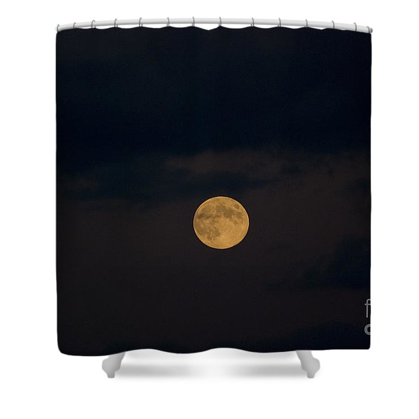 Moon Rising 07 Shower Curtain by Thomas Woolworth