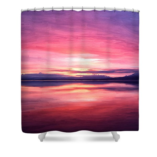 Morning Dawn Shower Curtain by Michael Pickett