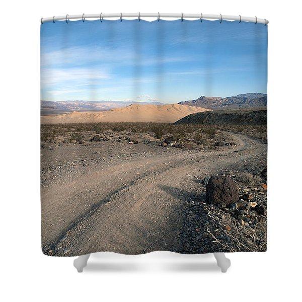 Morning on Steele Pass Shower Curtain by Joe Schofield