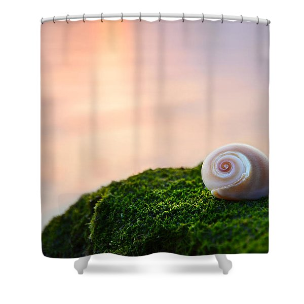 by the sea Shower Curtain by Laura  Fasulo