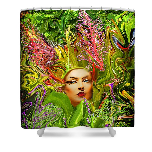 Mother Nature Shower Curtain by Chuck Staley