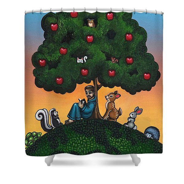 Mother Natures Son II Shower Curtain by Victoria De Almeida
