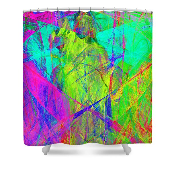 Mother of Exiles 20130618m60 Long Shower Curtain by Wingsdomain Art and Photography